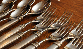 Match Pewter Flatware + Utensils