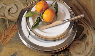Match Pewter Dinnerware