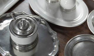 Match Pewter Serving