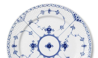 Royal Copenhagen Blue Fluted Half Lace