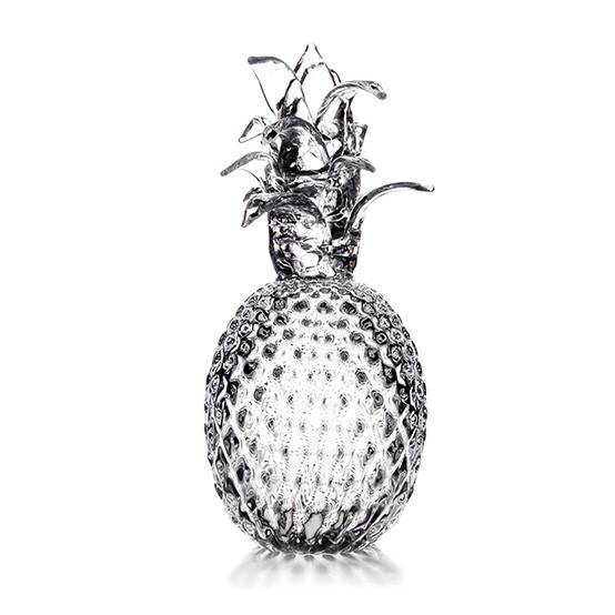 Large Glass Pineapple