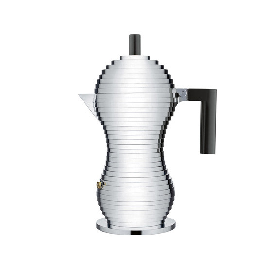 Pulcina Espresso Coffee Maker Black Handle Small