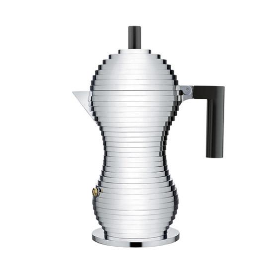 Pulcina Espresso Coffee Maker Black Handle Medium