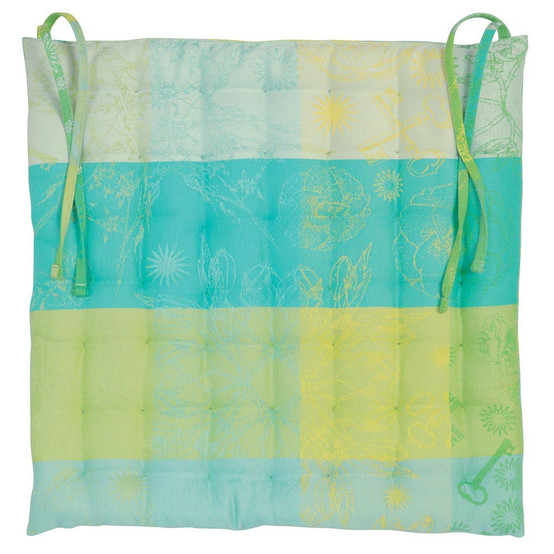 Mille Alcees Narcisse Coated Chair Cushion 15 x 15