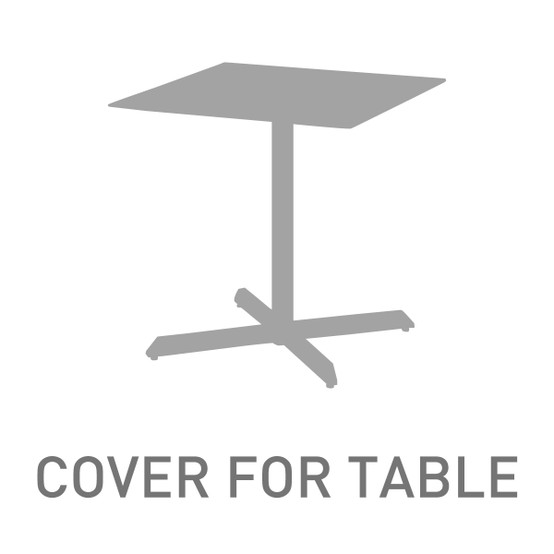 27 Inch Square Table Cover