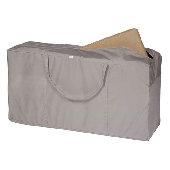 Storage Bag Fits Two Lounger Cushions