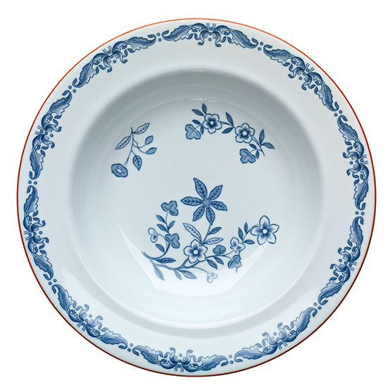 Ostindia Rimmed Soup Bowl