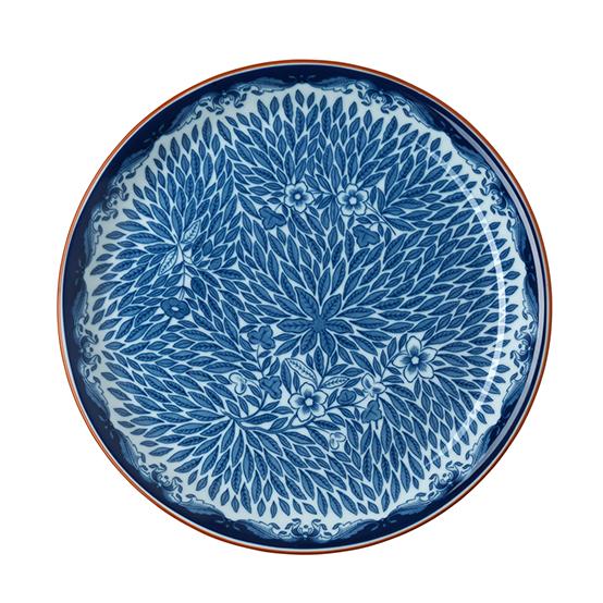 Ostindia Floris Salad Plate