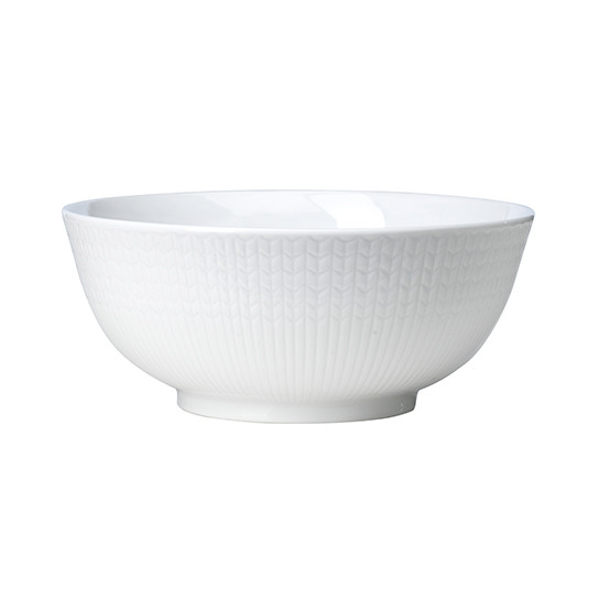 Swedish Grace Large Bowl in Snow