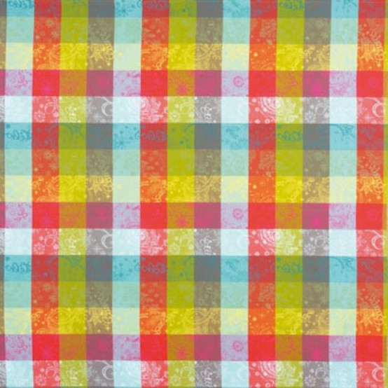 Mille Couleurs Paris Coated Fabric (Price/Inch)