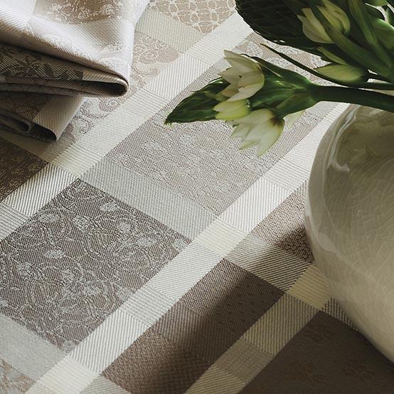 Mille Ladies Argile Coated Fabric (Price/Inch)