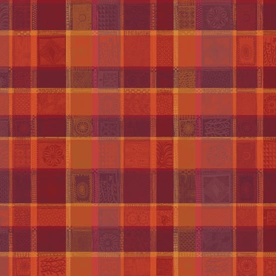 Mille Wax Ketchup Coated Fabric (Price/Inch)