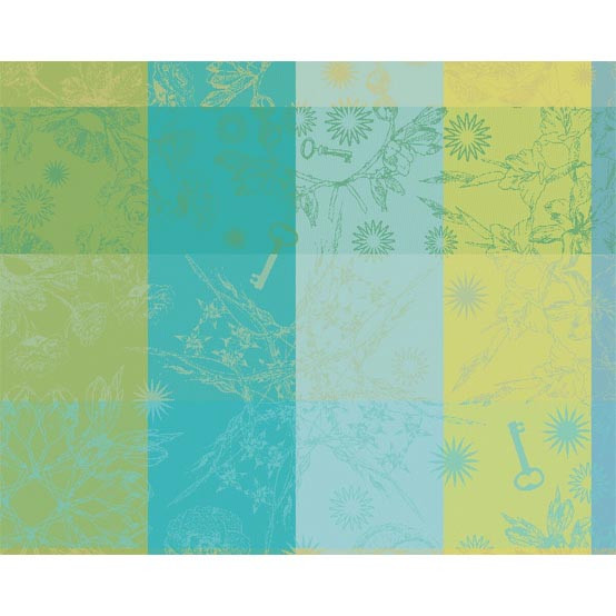 Mille Alcees Narcisse Coated Placemat 16 x 20