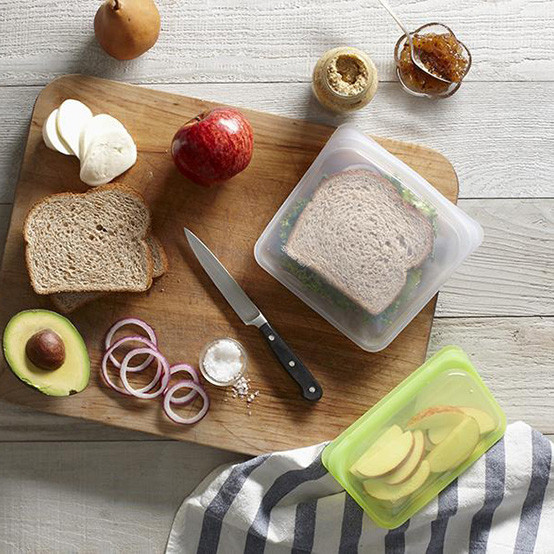 Stasher Sandwich Bag in Clear