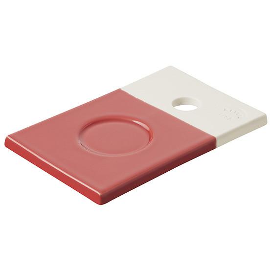 Color Lab Saucer Amaranth Red