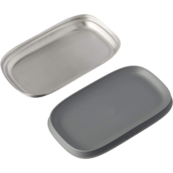 Stainless Double Spoon Rest