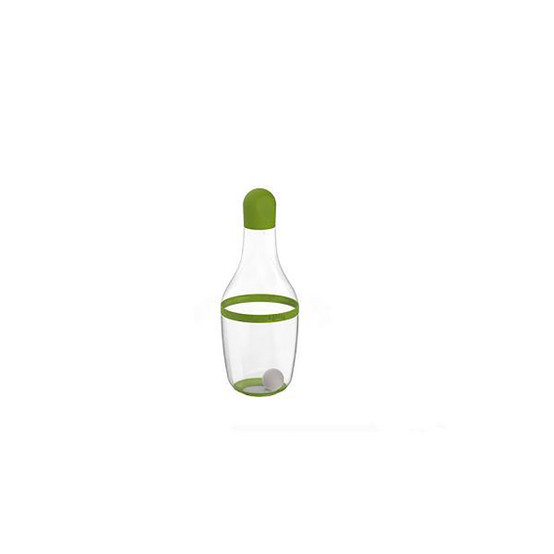 Salad Dressing Shaker in Red