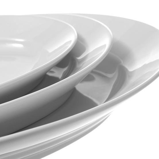 Deep Oval Platters