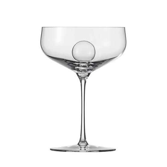 1872 Air Sense Saucer Champagne 10.4oz