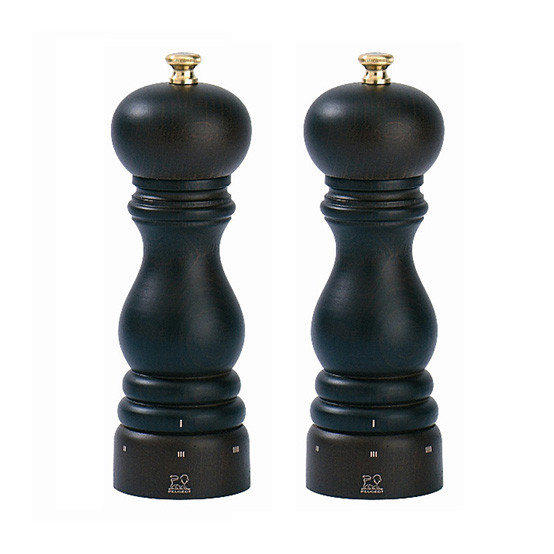 Paris U'Select Duo Chocolate Pepper Mill And Salt Mill 7""