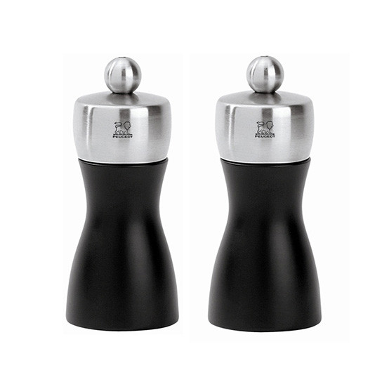 Fidji Matte Black Pepper Mill And Salt Mill 4 _î