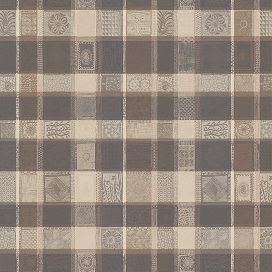Mille Wax Coated Fabric in Argile (Price/Inch)