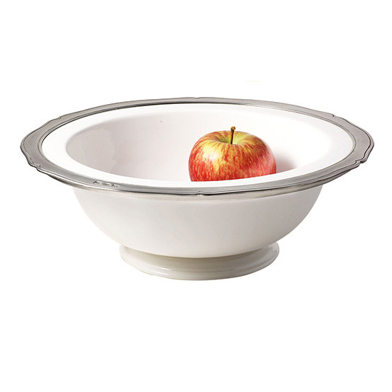 Viviana Large Round Footed Serving Bowl