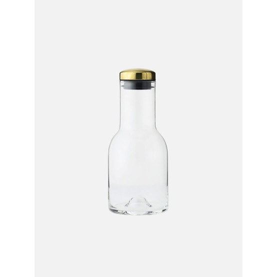 17 oz Water Bottle with Brass Lid
