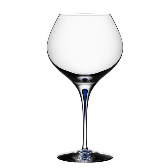 Intermezzo Blue Bouquet Wine Glass