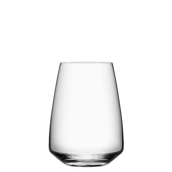 Set of 4 Pulse Stemless Wine Glasses