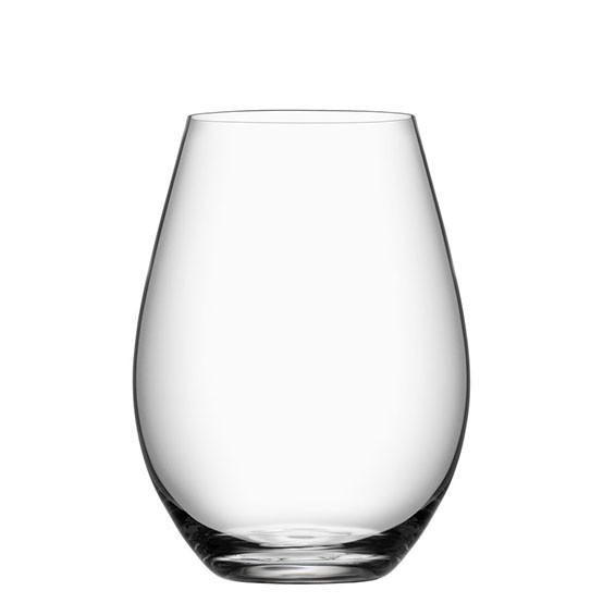 Set of 4 More Stemless Wine Glasses