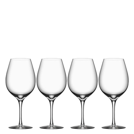 Set of 4 More Wine XL Glasses