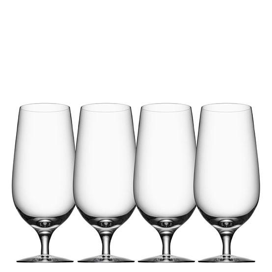 Beer Lager Glasses (set of 4)
