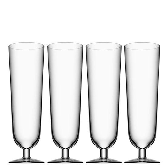 Beer Pils Glasses (set of 4)