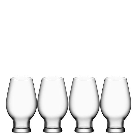 Beer IPA Glasses (set of 4)