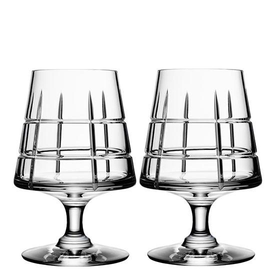 Pair of Street Cognac Glasses