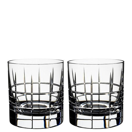Pair of Street Whiskey Glasses