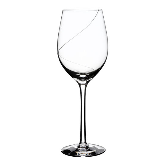 Line White Wine Glass