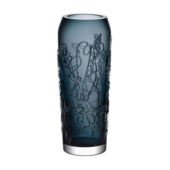Twine Grey Small Vase