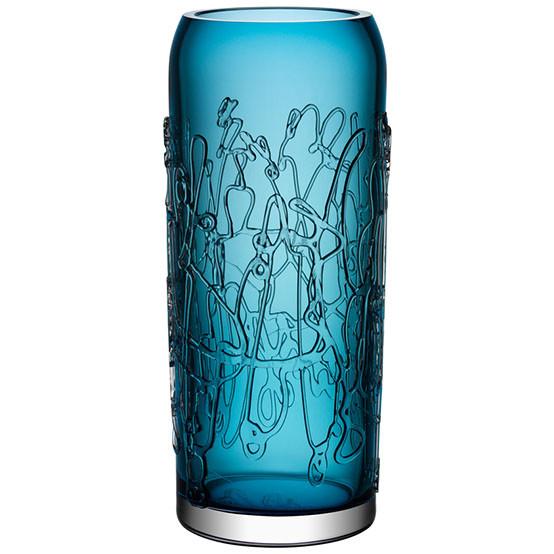 Twine Blue Large Vase