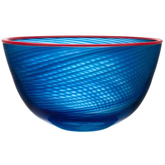 Large Red Rim Bowl