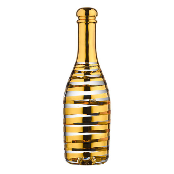 Celebrate Gold Champagne Bottle