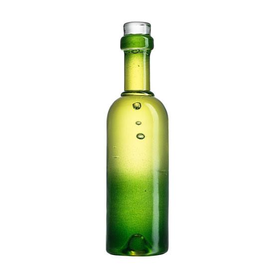 Celebrate Green Wine Bottle