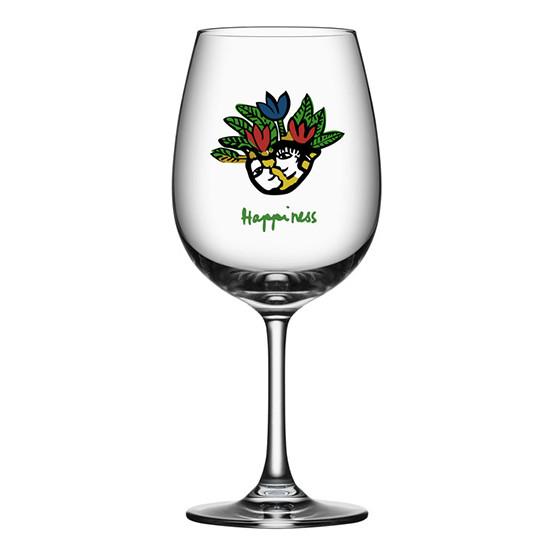Friendship Wine Glass - Happiness