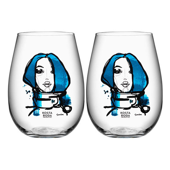All About You Tumbler 2 pack - Blue
