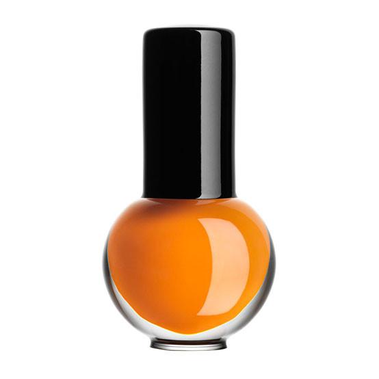 Art Glass Nail Polish - Round, Small, Orange