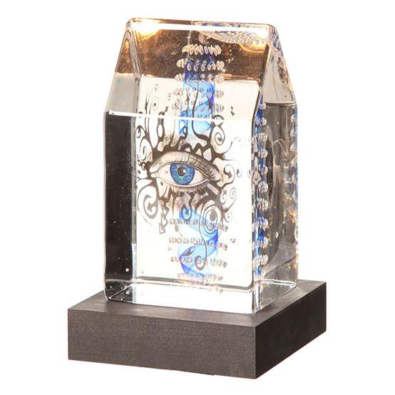 Art Glass Glimpse Sculpture