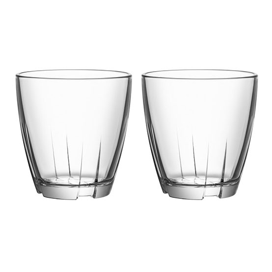 Bruk Small Clear Tumbler - Set of Two