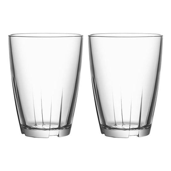 Bruk Large Clear Tumbler - Set of Two