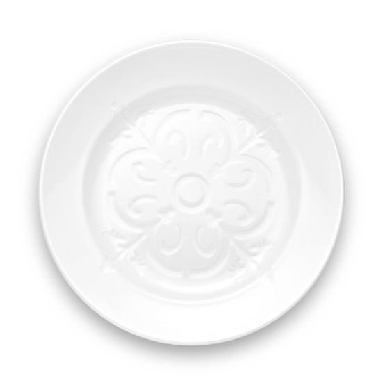 Montmartre Dinner Plate with Embossed Center